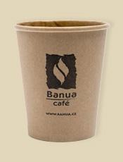 Pohárik BANUA cappuccino