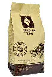Káva BANUA 250g jemne mletá