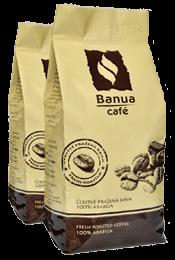 Káva BANUA 250g 3+1 hrubě mletá
