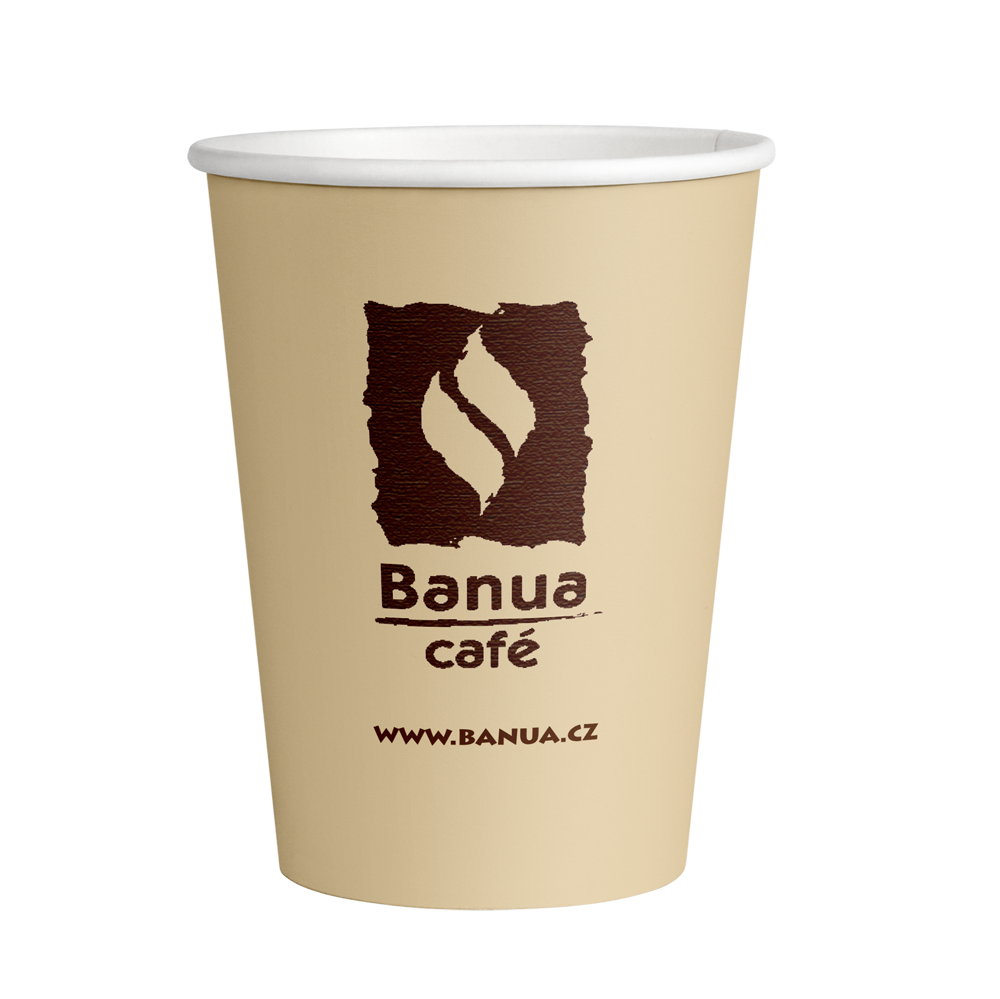 Kelímek BANUA cappuccino