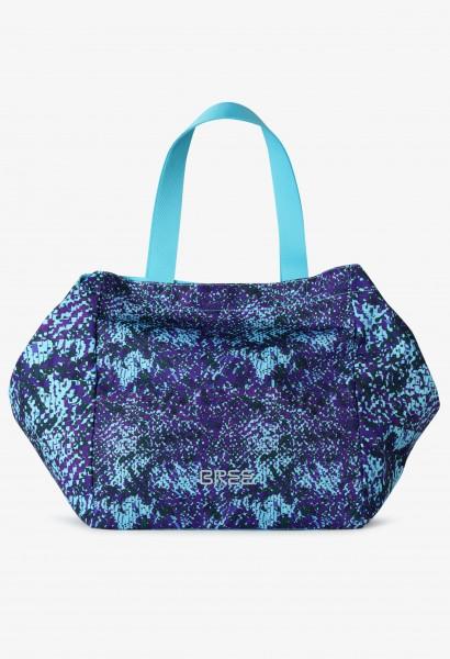 caribbean blue print S17