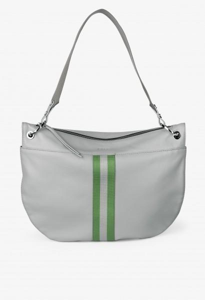 silver grey / webbing on bag W17