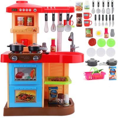 Dětská interaktivní kuchyňka - růžová