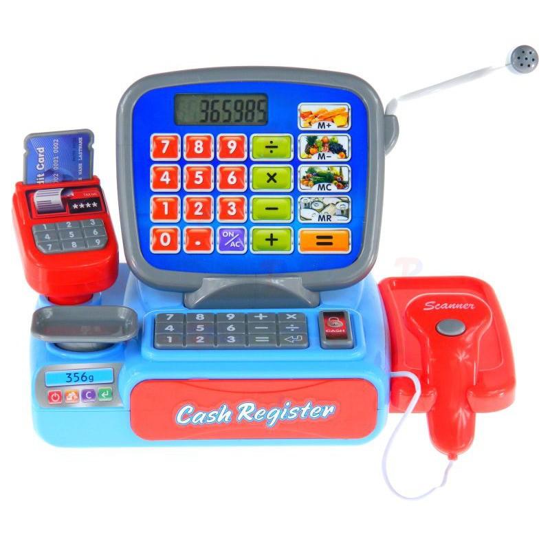 Dětská pokladna s kalkulačkou