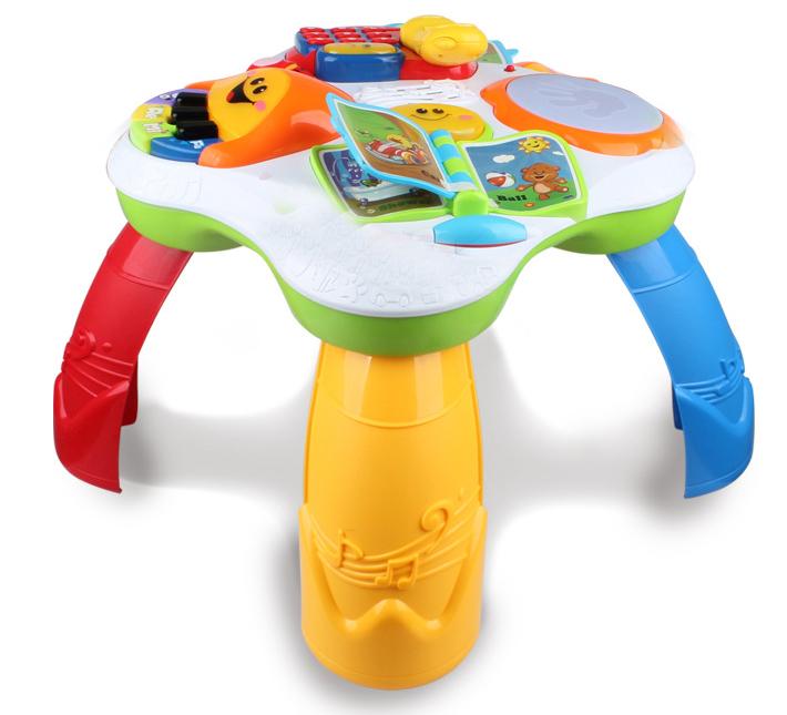 Dětský hrací stolek s pianem a telefonem