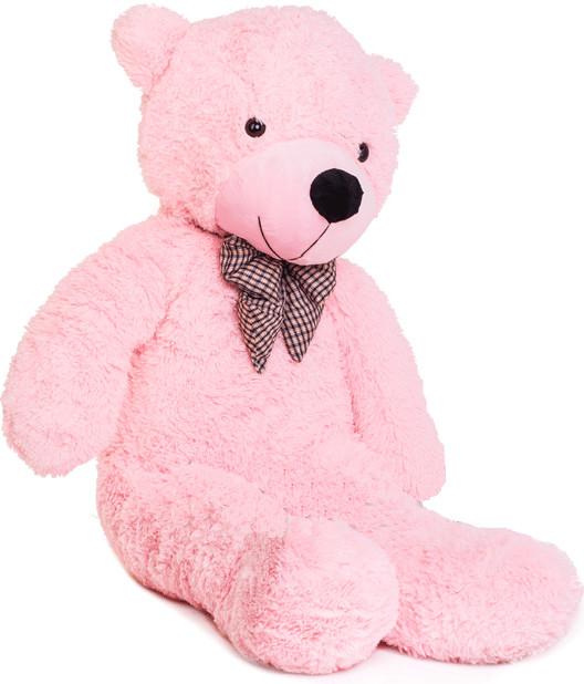 Velký plyšový medvěd 130 cm - růžový