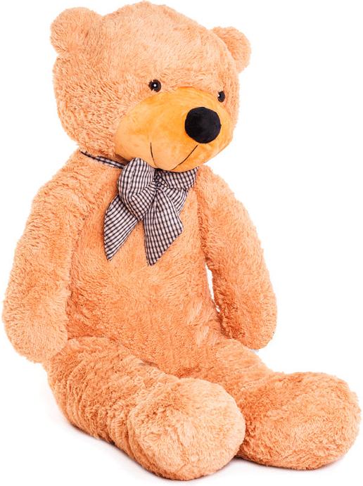 Velký plyšový medvěd 130 cm - světle hnědý