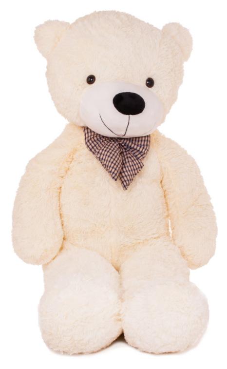 Velký plyšový medvěd 130 cm - bílý
