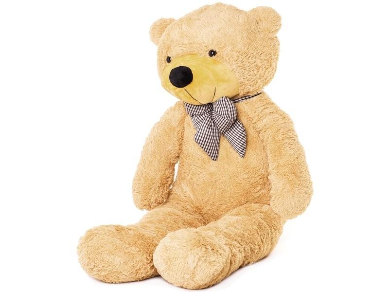 Velký plyšový medvěd 130 cm - béžový