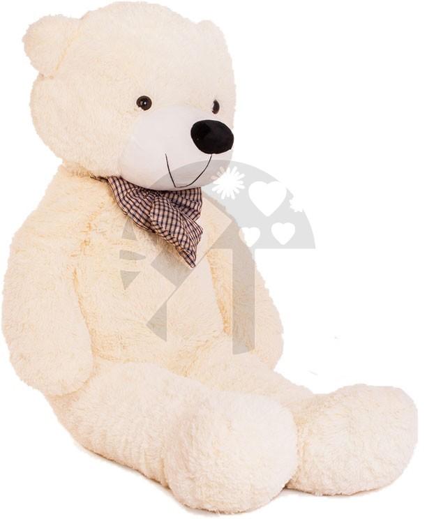 Velký plyšový medvěd 150 cm - bílý