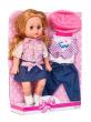 Malá panenka Doris 35cm s oblečením