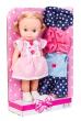 Malá panenka Doris 25cm s oblečením