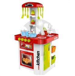 Dětská kuchyňka s lednicí, troubou a tekoucí vodou