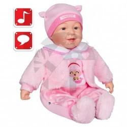 Mluvící a zpívající dětská panenka PlayTo Nelinka 46 cm