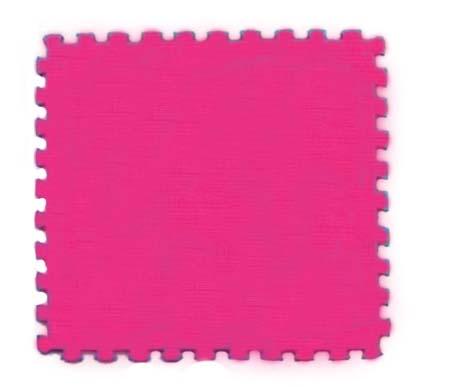 Velké pěnové puzzle 60x60 XXL - růžové