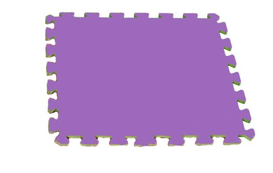Velké pěnové puzzle 60x60 XXL - fialové