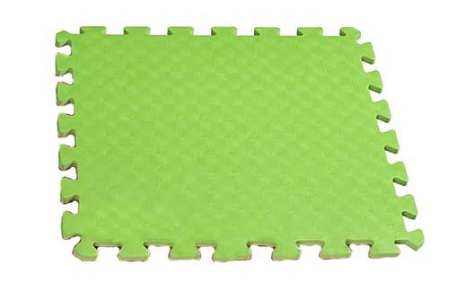 Velké pěnové puzzle 60x60 XXL - zelené