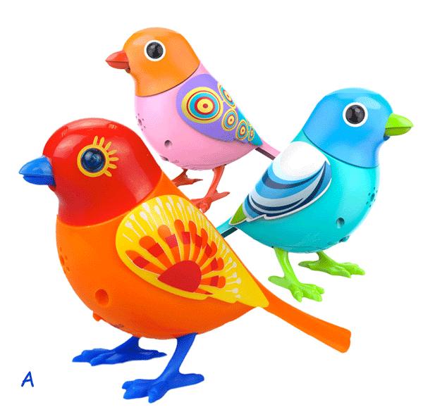 Zpívající ptáček DigiBirds 3v1 - sestava A