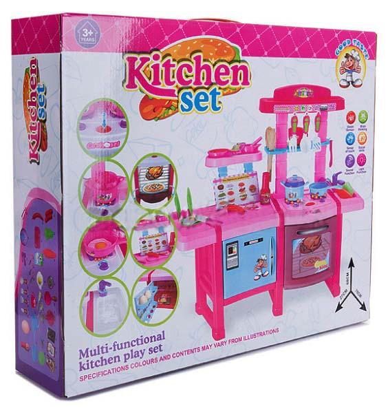Dětská kuchyňka Doris s lednicí a troubou