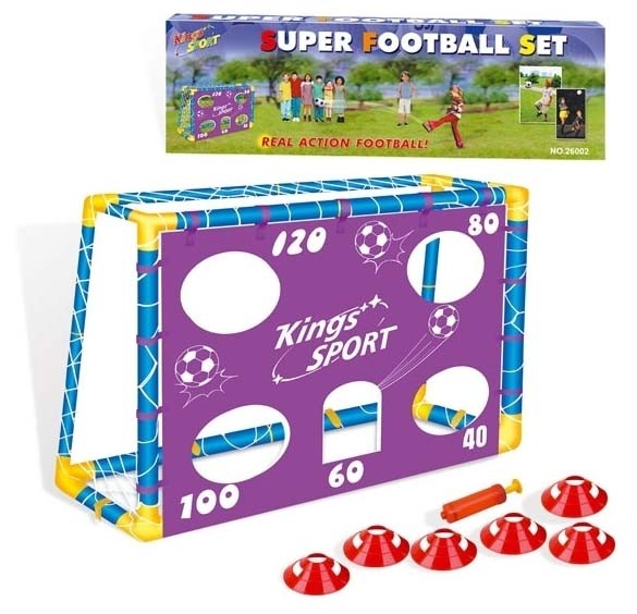 Dětská fotbalová branka 130x100x59 cm