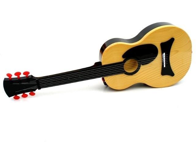 Dětská plastová elektrická kytara