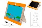 Dřevěná tabule na kreslení Safari oboustranná, Scratch
