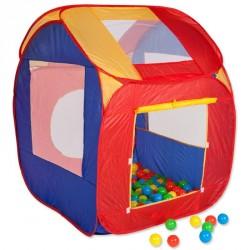 Stan domeček Doris s plastovými míčky 100ks