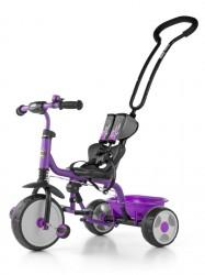 Dětská tříkolka se zvonkem Milly Mally Boby 2015 purple