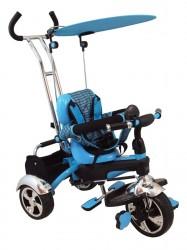 Dětská tříkolka Baby Mix blue