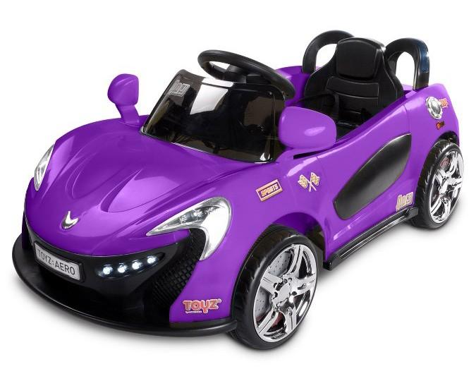 Elektrické autíčko Toyz Aero - 2 motory a 2 rychlosti fialové