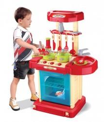 Dětská interaktivní kuchyňka Doris v kufříku