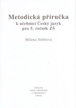 5. ročník - Český jazyk - Metodická příručka pro učitele