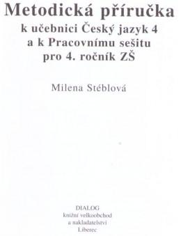 4. ročník - Český jazyk - Metodická příručka pro učitele