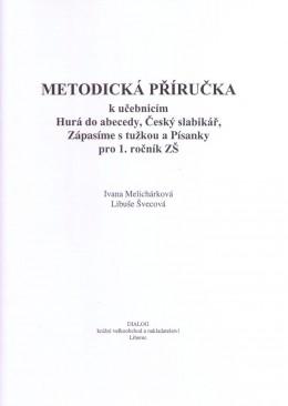 1. ročník - Český jazyk - Metodická příručka pro učitele