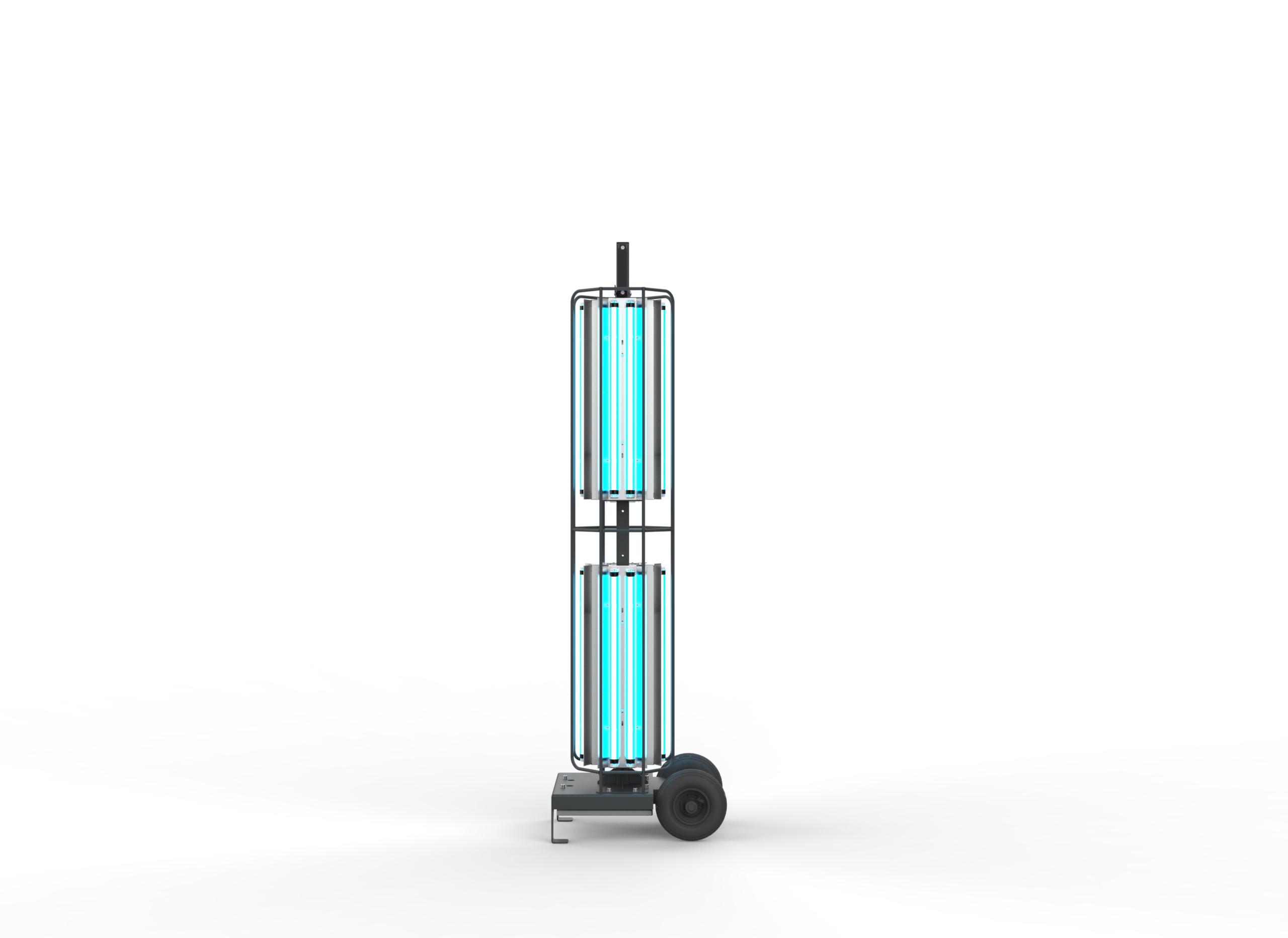 Stojací UV-C lampa 360° pro dezinfekce prostor, 288W