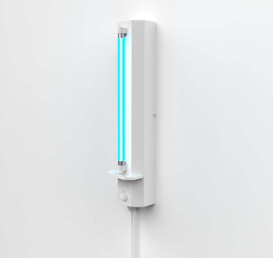 UV-C lampa pro dezinfekce prostor, 8W