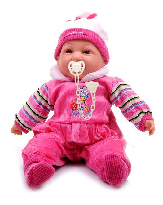 Doris Mluvící panenka s dudlíkem
