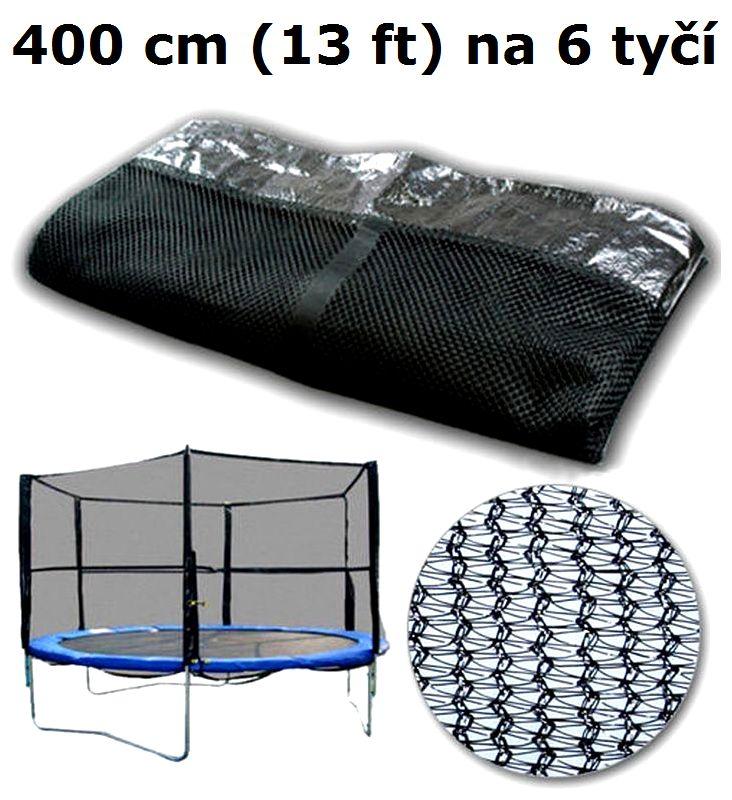 Ochranná síť na trampolínu 400 cm (13 ft) na 6 tyčí