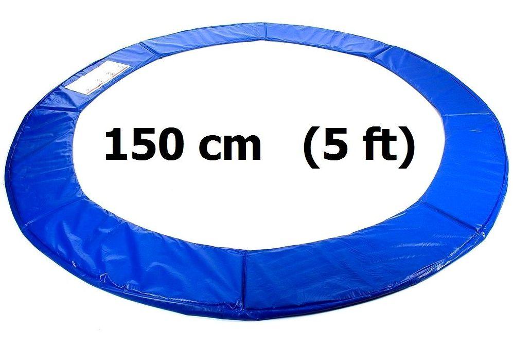 Kryt pružin na trampolínu 150 cm (5 ft) Modrý