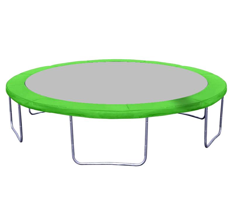Kryt pružin na trampolínu 250 cm (8 ft) - Světle zelený