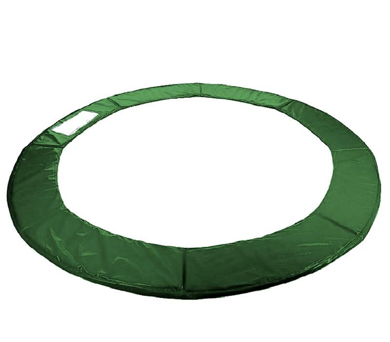 Kryt pružin na trampolínu 250 cm (8 ft) - Tmavě zelený
