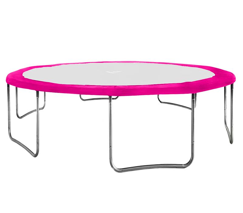 Kryt pružin na trampolínu 250 cm (8 ft) - růžový