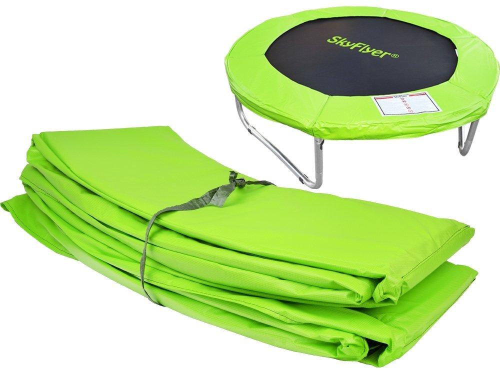 Kryt pružin na trampolínu 500 cm (16 ft) - světle zelený SkyFlyer