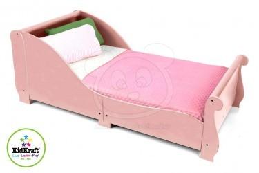 Dětská postel KidKraft Sleigh: růžová