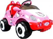 Injusa elektrické autíčko RACING CAR HELLO KITTY 6V 71014