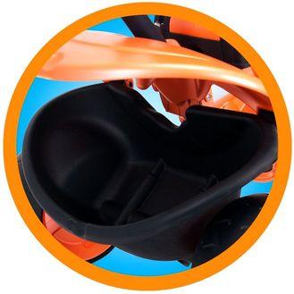 Injusa tříkolka CITY 326: oranžová