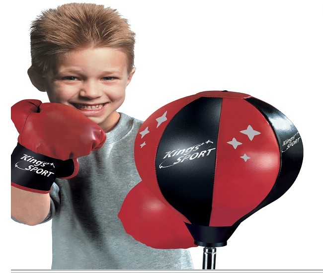 Dětský boxovací pytel na stojanu