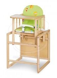 Klups jídelní židlička Aga borovice