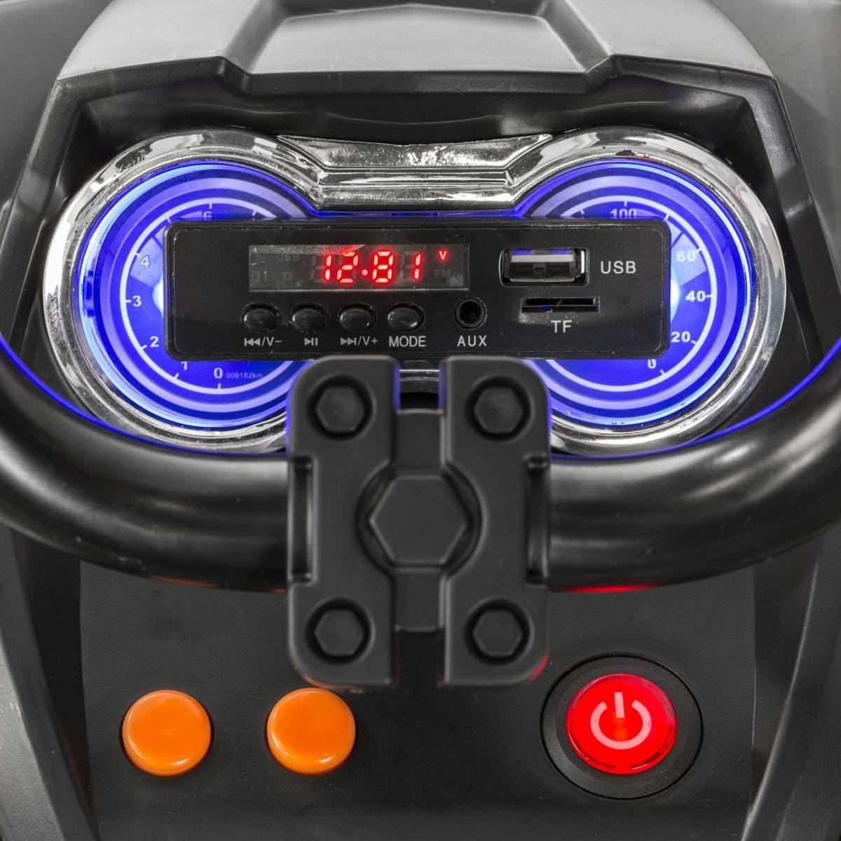 Elektrická čtyřkolka BDM, 2.4GHz, EVA kola
