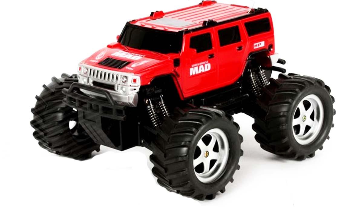 RC auto Monster Truck Mad 1:16 - červený